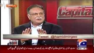 Capital talk - Hamid Mir on 24th october 2013 - HQ