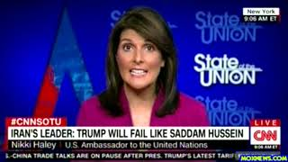 """Nikki Haley """"There Is No Love For Iran Here In The United States!"""""""