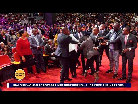 UNBELIEVABLE A FIGHT breaks out in AMI Accurate Prophecy with Alph LUKAU