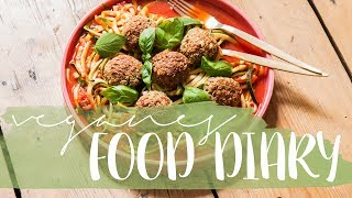 Realistisches Alltags-FOOD DIARY  | What I Eat In A Day | DIY Açai Bowl | vegan