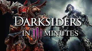 The ENTIRE Story of Darksiders in 3 Minutes | ArcadeCloud
