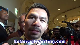 PACQUIAO AGREES GOLOVKIN IS A