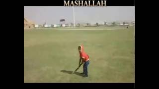 3 years Old Boy Unique Cricket Talent in Pakistan