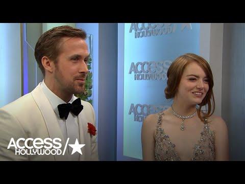 Golden Globes La La Land Stars & Director Celebrate Awards Sweep