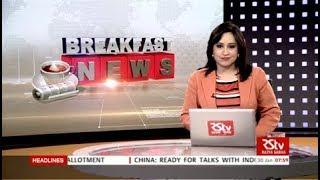 English News Bulletin – Jan 30, 2018 (8 am)