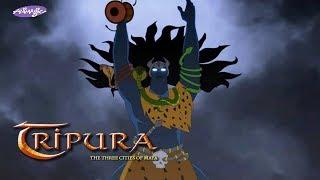 Tripura- The three cities of Maya: Shiva becomes Pashupati