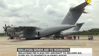 Malaysia sends aid to Rohingya in Bangladesh