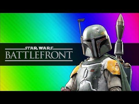 Star Wars Battlefront Beta Funny Moments Darth Vader vs. Luke Skywalker