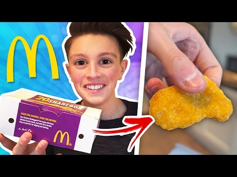 ORDERING ONE CHICKEN MCNUGGET AT MCDONALDS 🍔🍟
