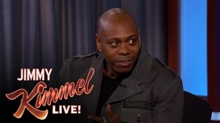 Dave Chappelle on His New Comedy Specials