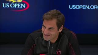 Adorable kid asks Roger Federer why he is nicknamed the 'GOAT' | ESPN