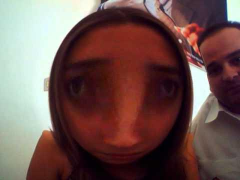 Tom e Maisa na webcam no trampo c mtas risadas e efeitos.