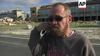 Mexico Beach among areas worst affected by hurricane