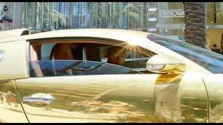 Jamie Foxx Leaves Future Concert In $2M Gold Bugatti