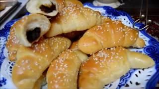 كرواسان  بلتمر الشهي طريقه جديده وسهله للعيد , اكلات عراقيه ام زين IRAQI FOOD OM ZEIN