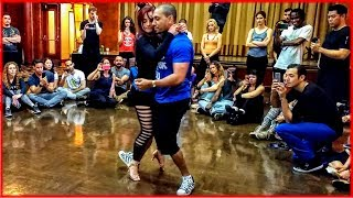 Kadu Pires & Larissa Thayane - Zouk Dance Demo at the 2017 Los Angeles Zouk Congress