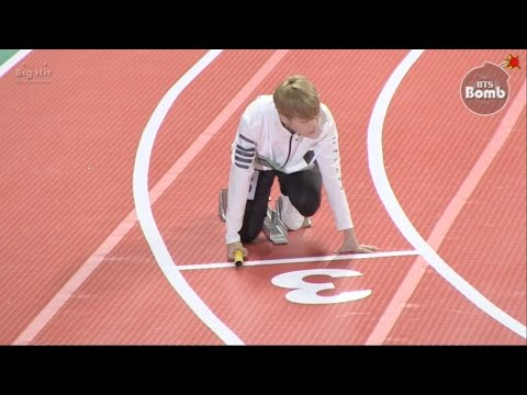 [BANGTAN BOMB] BTS' Relay race @ 2016 추석특집 아육대 - BTS (방탄소년단)