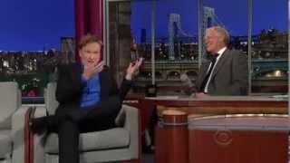 Conan O Brien   Interview Letterman