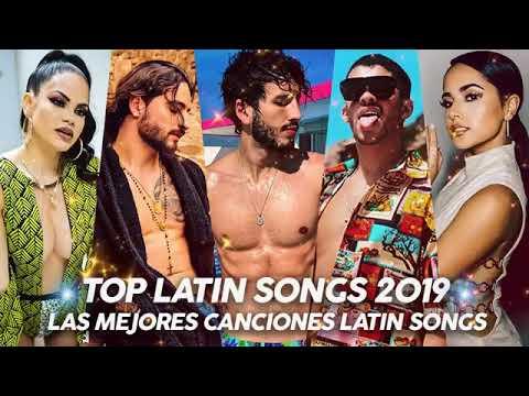 Top Latino Songs 2019 Maluma Nicky Jam Ozuna Wisin Becky G CNCO