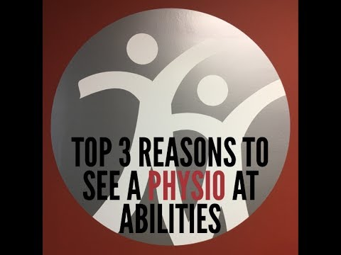 Top 3 Reasons to See a Physio at Abilities