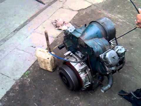 Multicar M22 Diesel motor 800 cm3 mp4