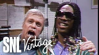 Frank Sinatra and Stevie Wonder Duet - SNL