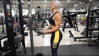 Träning för välsvarvade armar? Effektivt axel/arm/mag-pass på Gymmet Uppsala!
