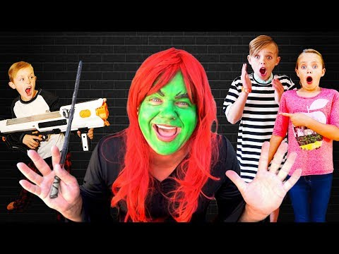 Kids Fun TV Escape The Babysitter Compilation Video Babysitter Showdown Escape the Room