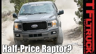 Can You Build a Half Price Ford Raptor with Falcon Shocks?