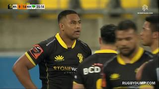 Julian Savea picks on Northland halfback