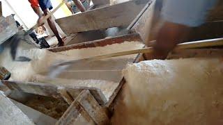 Produção de farinha