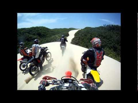 Trilha de Motos Dunas do Cumbuco a Taiba 05.02.2012