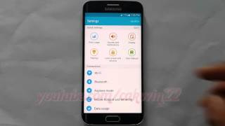 Android Lollipop : How to Turn on or turn off Auto restart on Samsung Galaxy S6