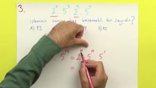 8. SINIF - ÜSLÜ SAYILAR - Şenol Hoca (pratik bilgilerle)