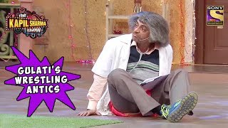 Gulati's Wrestling Antics To Impress Salman Khan - The Kapil Sharma Show