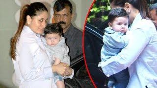 Kareena Kapoor Takes Baby Taimur To Tusshar Kapoor