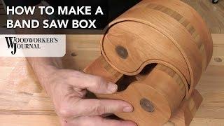 Basics of Making a Band Saw Box | JET Sponsored Project