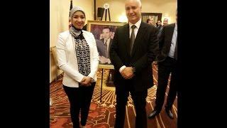 مداخلتي أمام السيد أنيس بيرو الوزير المكلف بالجالية المغربية