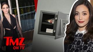 Emmy Rossum – Jewelry Stolen! | TMZ TV