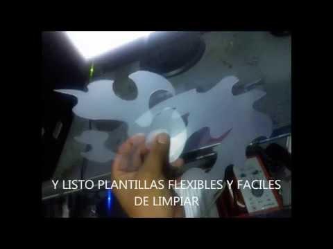 AEROGRAFIA PLANTILLAS HECHAS EN CASA
