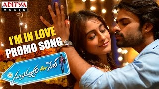 I'm In Love Video Song || Subramanyam For Sale Songs|| Sai DharamTej, Regina Cassandra