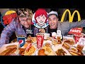 We Bought 1 Item From EVERY Fast Food Restaurant in Our City