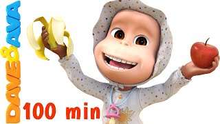 Apples and Bananas Song | Nursery Rhymes Collection and Baby Songs from Dave and Ava