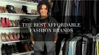 The Best Affordable Fashion Brands