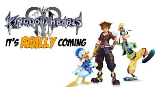 Kingdom Hearts 3 ACTUALLY COMING When!? - The Know Game News