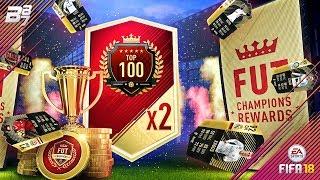 TOP 100 FUT CHAMPIONS REWARDS! 2X ULTIMATE TOTW PACK!   FIFA 18 ULTIMATE TEAM