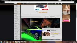 How to install neon in gta san andreas