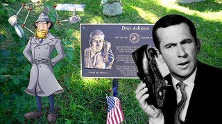 #857 The Grave of DON ADAMS - MAXWELL SMART - GET SMART - Daily Travel Vlog (12/11/18)