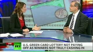 'Visa lottery is stupid!'