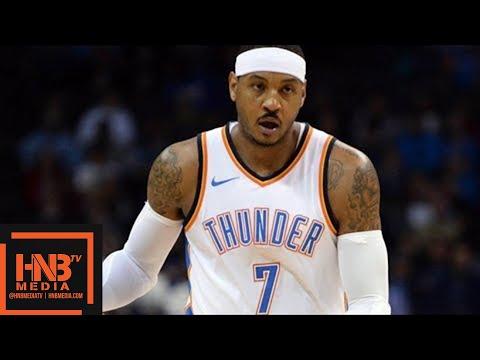 Oklahoma City Thunder vs Charlotte Hornets Full Game Highlights / Week 9 / Dec 11